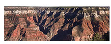 Late Afternoon Panorama No. 2, North Rim, Grand Canyon, AZ