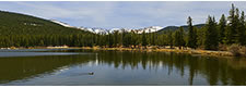 Echo Lake Panorama at the Foot of Mount Evans, CO