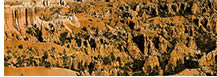 Hoodoos Panorama, Bryce Canyon National Park, UT