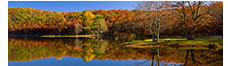 Sherando Lake in Fall, Augusta County, VA